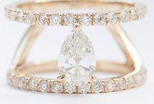 Engagement bling / Engagement rings