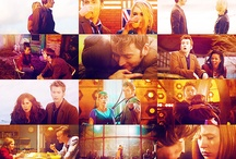 """Doctor Who / """"D'you wanna come with me? 'Cause if you do then I should warn you; you'll see all sorts of things. Ghosts from the past. Aliens from the future. The day the Earth died in a ball of flame. It won't be safe, it won't be quiet and it won't be calm. But I'll tell you what it will be; the trip of a lifetime!""""~ The Doctor  / by Sarah Miller"""
