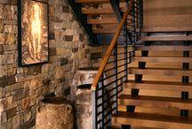 Lépcső/korlát