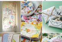 Craftiness-Vintage linens