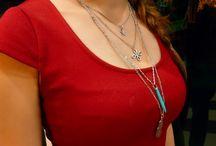 Four-leaf clover multilayer necklace