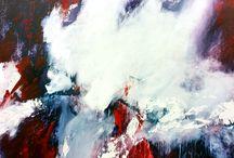 Schilderijen / Eigen werk van Bo