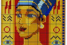 Cross stitch - Egypt