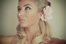 Pin-up girl hairstyles