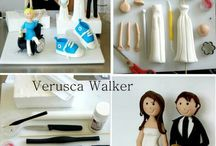 Sugarcraft - People / How to make people from Sugar Work, Fondant, Flower Paste & Mexican Paste.