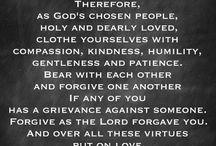 Colossians 3:12-15