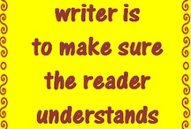 Writing& Reading / The power of words