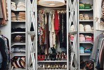Closet Organizers / ideas/pics of clothes closets