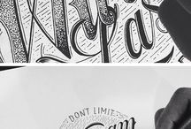 hand typography / hand typography