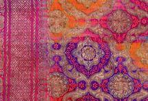 Indian Saris and Fabrics