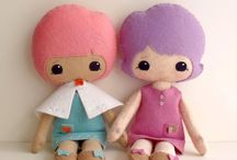 Sewing.....dolls