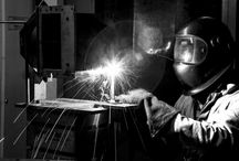 Manufacturing in Action! / Photos of our #manufacturing process including #welding and #laser cutting