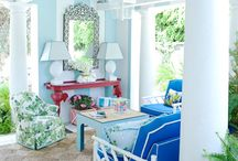 Pink and Blue Rooms