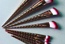 Make-up and brush