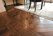 Hardwood Flooring Ideas and Transitions