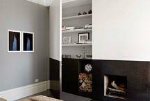 Hausbau Wohnzimmer