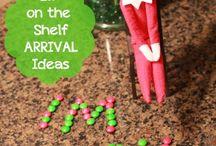 Elf on the shelf idead