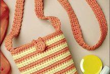 Bags for Little Girls knot/crochet