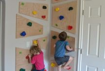climbing room for a kid