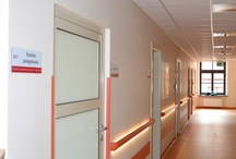 Modern Ward of Internal Medicine / The Department has a 24-hour emergency room, admitting patients in need of hospital and emergency treatment. The Department has 36 beds and 4 intensive care stations, which are prepared in case of life-threatening emergencies. The out-patient Clinic offers consultation and advice for people who are not in need of hospital admission. The Department provides patients with diagnosis and treatment of illnesses.