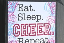 Cheer and lead CHEERLEAD / Cheerleading / by Kelly Burrow