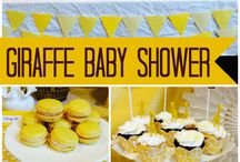 baby shower jirafa