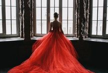 Wedding cathedral gown