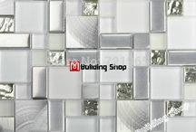 mosaico glass kitchen