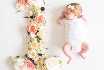 Baby month to month pictures