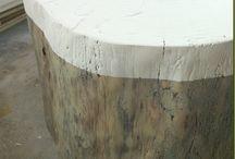 tree stumps / by jan@twoscoopz
