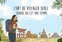 voyage seule