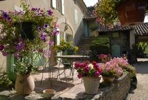 Terrasser i Provence