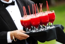 """Wedding Signature Cocktails / Signature cocktails are a popular and favorite wedding idea, regardless of the season in which your nuptials occur. Here are a few fabulous suggestions... any one of these festive, colorful libations would be a delicious addition to your cocktail hour or wedding reception. Take a look at some of these recipes and cross """"finding the perfect cocktail"""" off of your wedding planning to-do list!"""