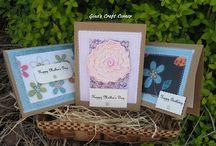 Cardmaking / Handmade Card Ideas / by Gina's Craft Corner