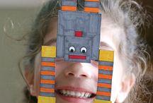 Kids arts and crafts/science/activities / Balancing robot