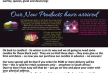 Newsletters from Simplea Candles