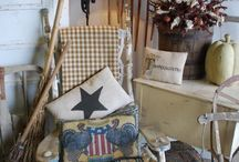 American Farm/Vintage Style / American Farm and Vintage Style Decor