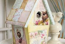 Bird houses / Beloved Feathered  Homes  / by janel webster