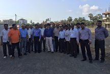 AREA organised Site Visit Viva City Virar @ Bolinj / AREA organised Site Visit Viva City Virar @ Bolinj