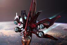 spaceship N jet