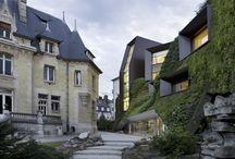 S P A C E / Architecture design, photographs, geometry, color, interior design...