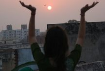 Receiving Rooftop Rhymes / Rooftop screaming pictures to the sky / by E. L.