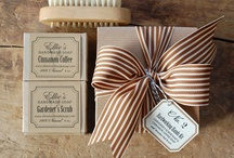 Handmade soap packaging