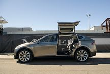 Tesla Model X / The all-electric SUV from Tesla. More torque than a pick-up truck.