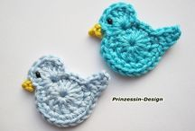 That's Pinteresting - Appliques and bookmarks  / by The Crochet Crowd