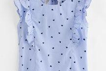 Camisas lindas para niñas