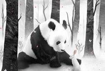 Panda a jej kamosi