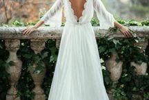 Open back bridal dresses