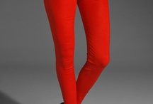 Fashion ✄ Pants (Red) / by obycejnost