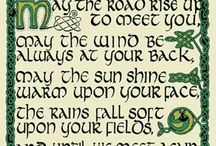 Irish Blessings and Incantations